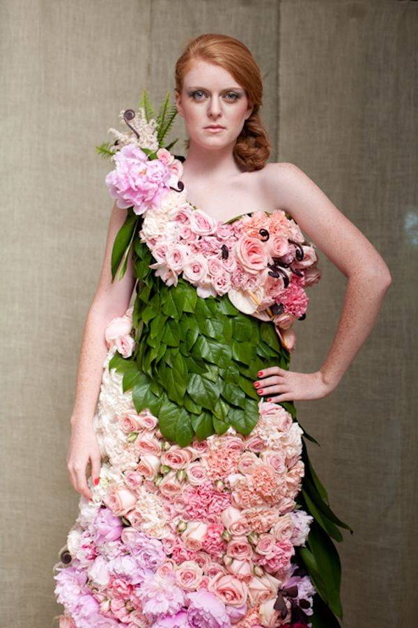 ~*~*~I wish she was smiling!  A dress of flowers!~*~*~
