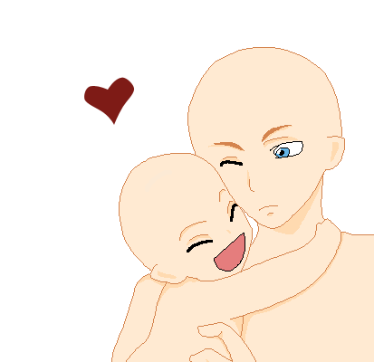 Pin By Xxposhanglexx On Anime Children And Babies Base In 2020 Drawing Base Line Art Drawings Anime Poses Reference