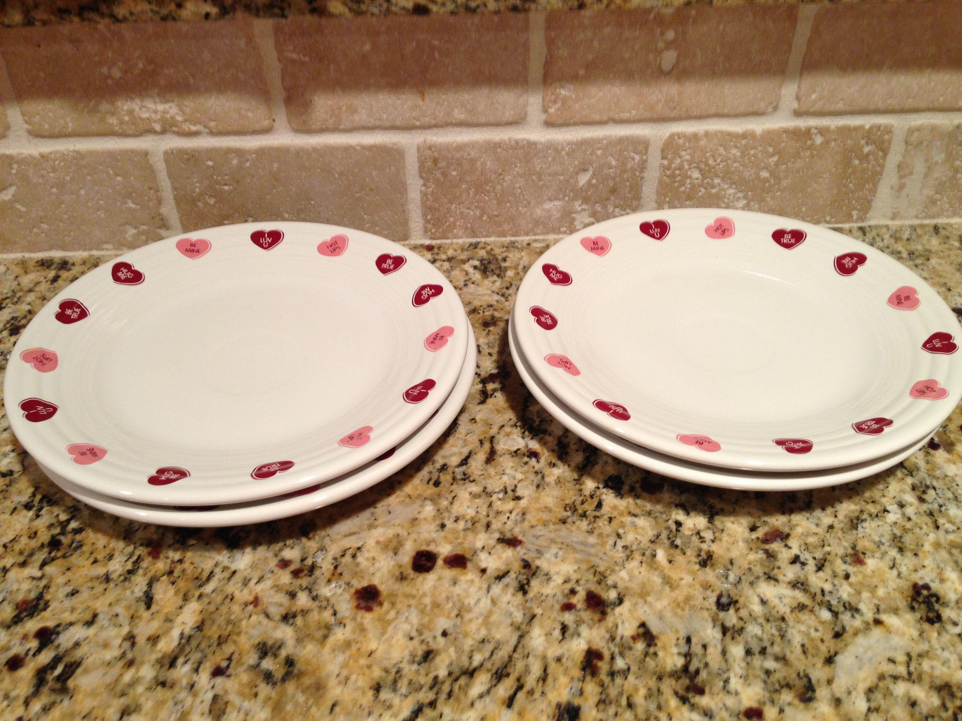 Our Valentine Hearts Fiesta luncheon plates! ❤ & Our Valentine Hearts Fiesta luncheon plates! ❤ | Dishes in my ...