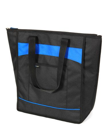 This Black Classic Chillout Thermal Tote is perfect! #zulilyfinds $12