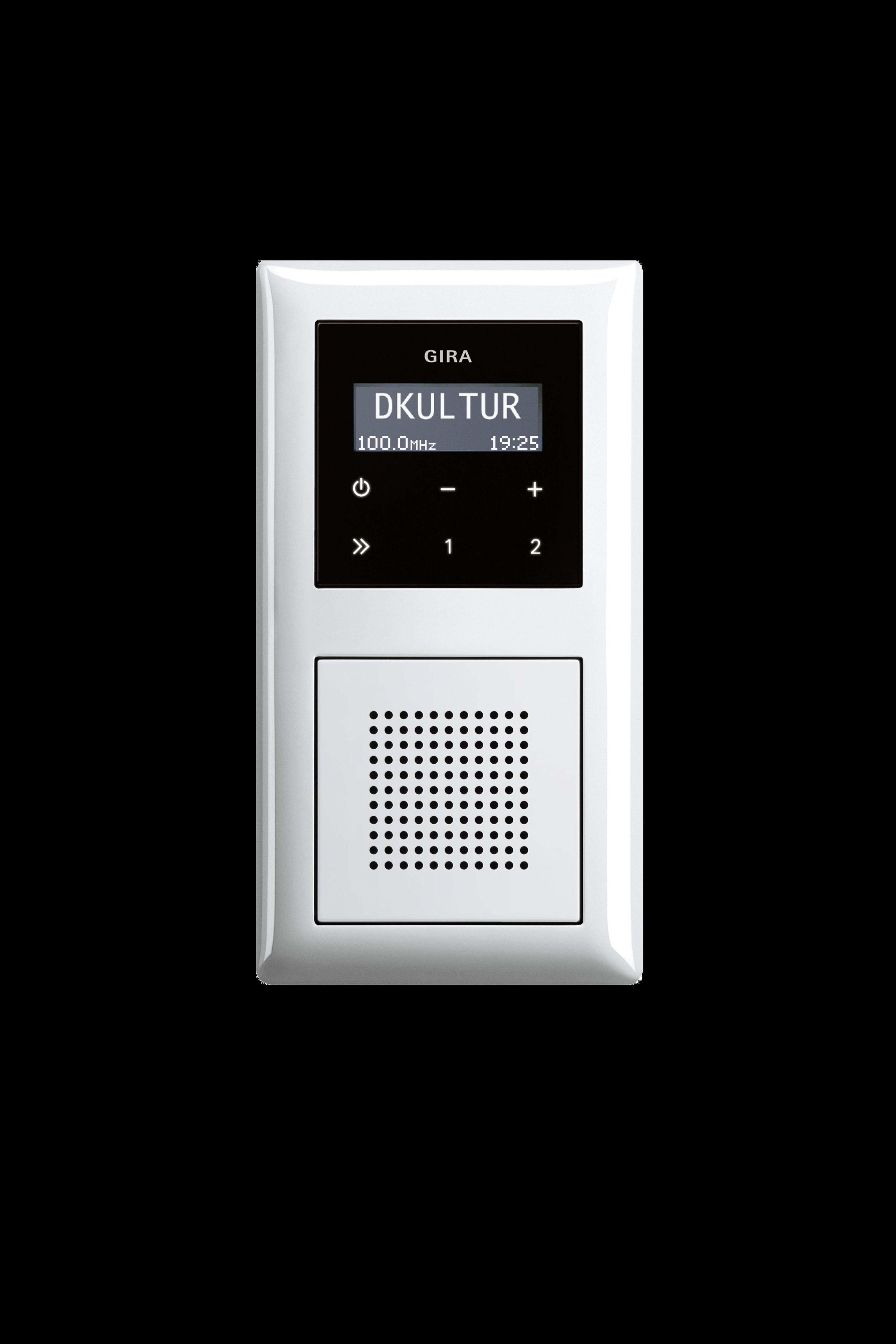 Platzsparendes Design Radio Radios Schalterprogramm Radio Musik