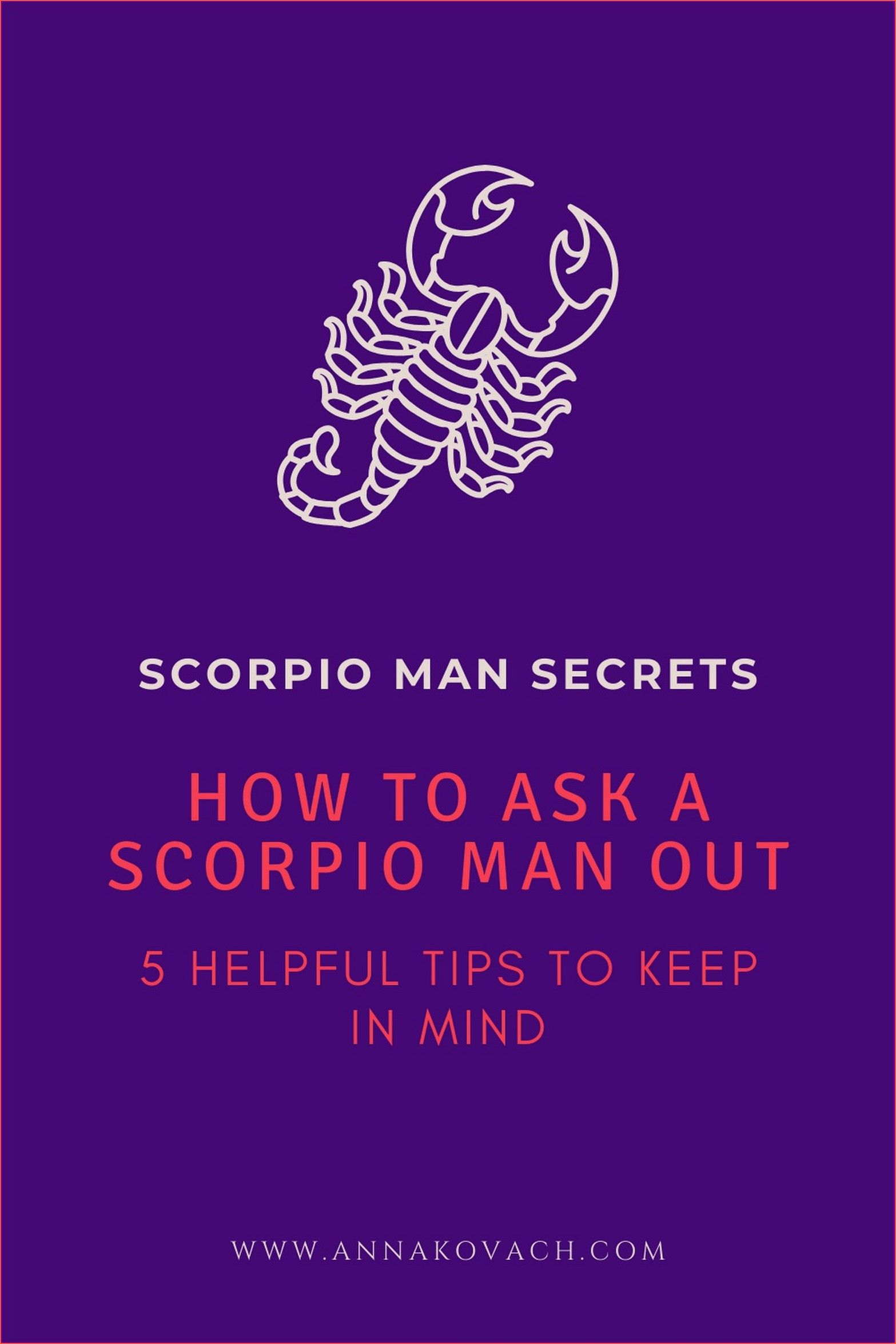 How to get a scorpio man attention