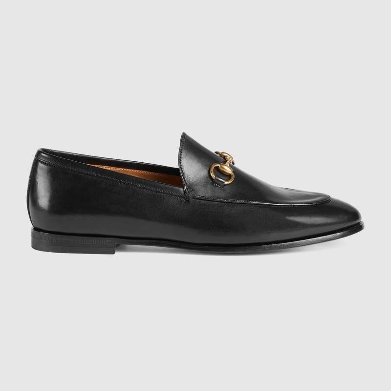 Mocassins à mors Gucci Jordaan en cuir - Gucci 595€   Wishlist ... 4b0641df068