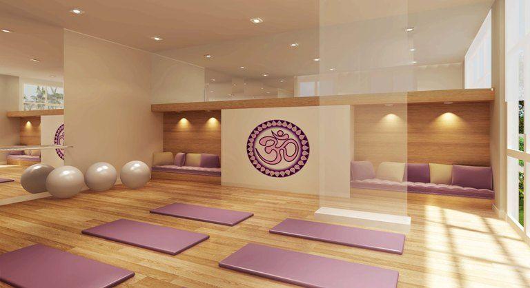 Novo jardim vip sala de gin stica e yoga pinteres for Raumgestaltung yoga