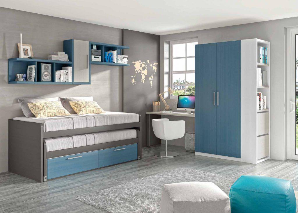 Dormitorio juvenil (168 – J11) - Muebles CASANOVA | ALCOBAS ...