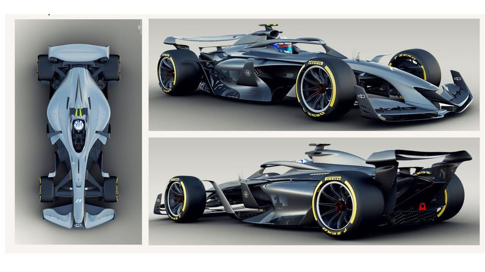 F1 Has Revealed Some More Concept Art Of Future F1 Cars
