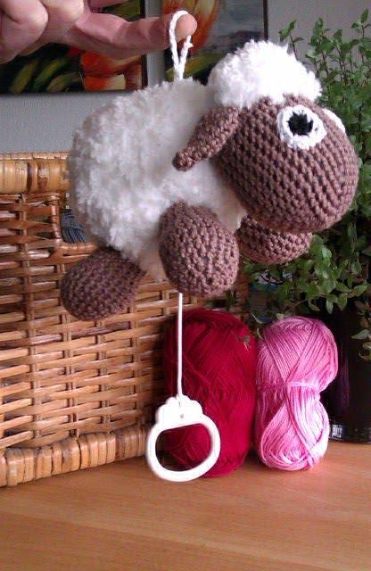 Muziekdoosje Schaap Amigurumi Pinterest Crochet Sheep Crochet