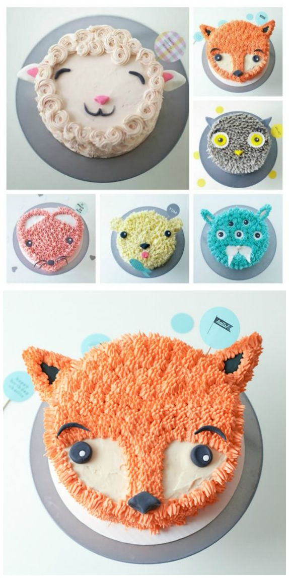 Animal Cakes Ideas – Easy Birthday Party Options – The WHOot