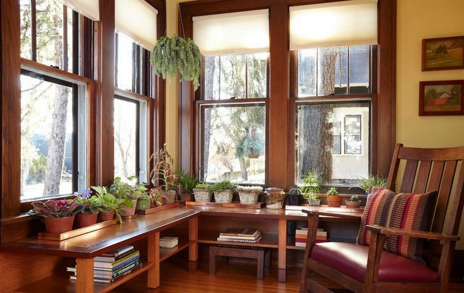 Window Treatments For Craftsman House Craftsman Interior
