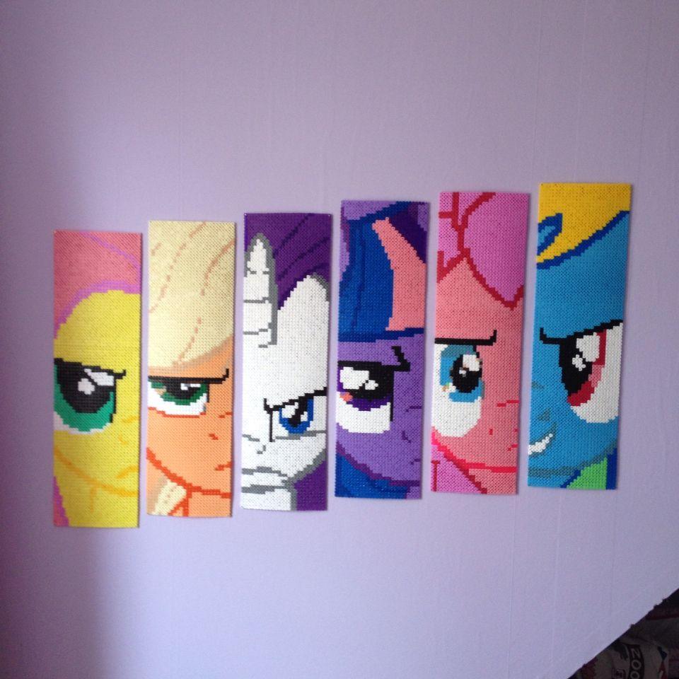My Little Pony Hamabeads Hamaperler Perler Beads Pony