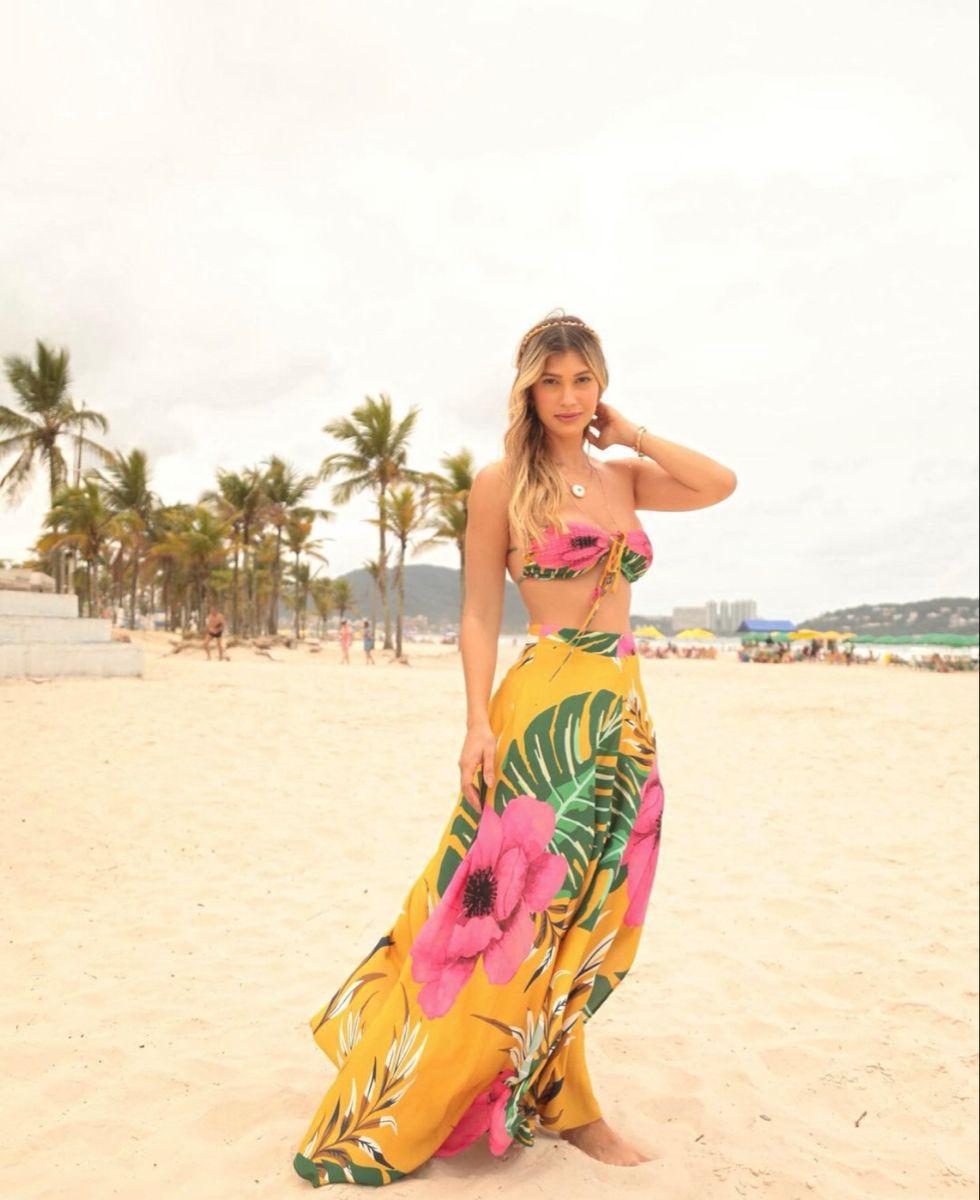 Quem ama um conjunto super colorido ? Clic e perfeito para o verão ☀️ . . . #modafeminina #love #tedencia #summer #verao #dicasdemoda #lookdodia #style #modafemininaatacado
