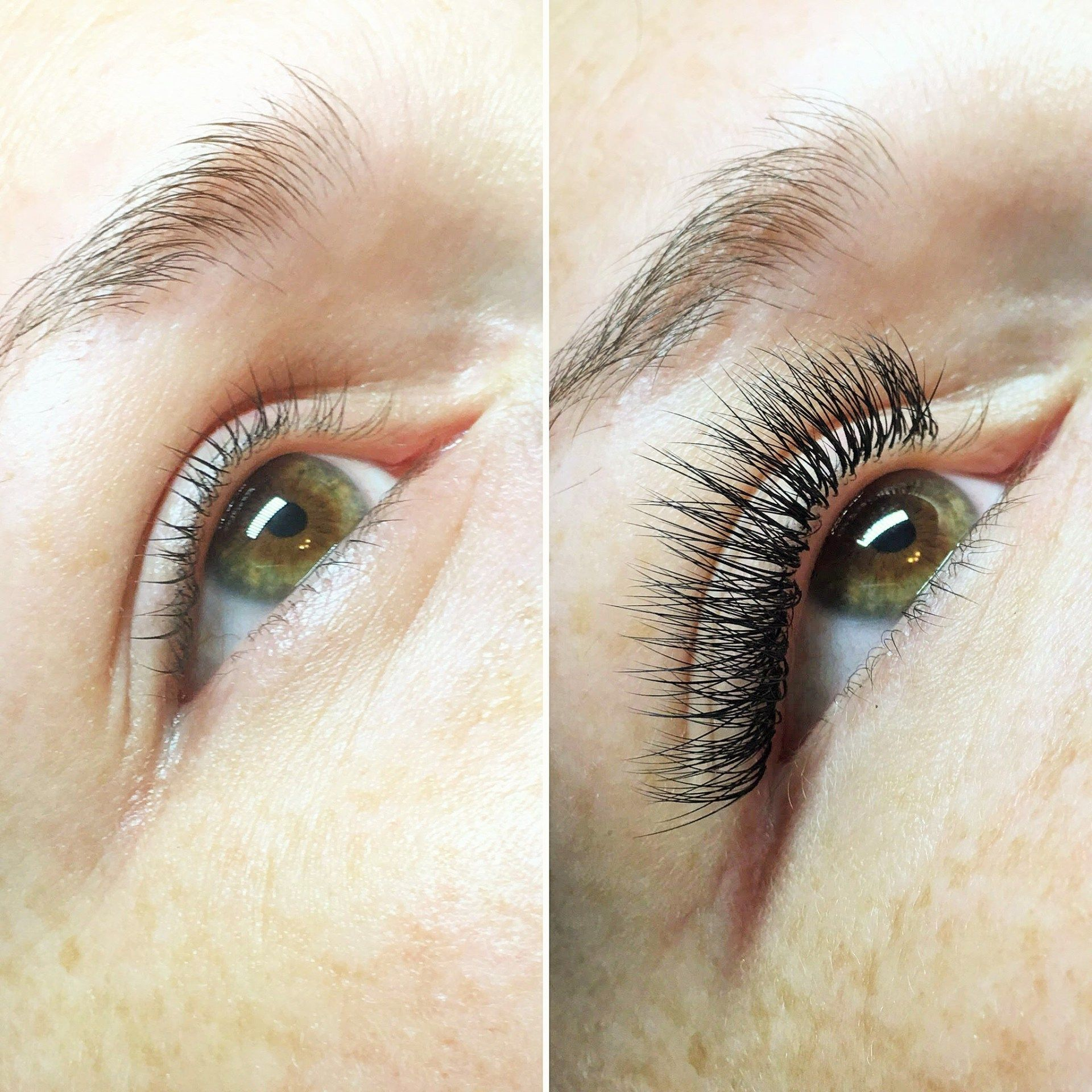 2d6b5f9a769 Before and After Eyelash Extension Review #EyelashExtensionsAftercare