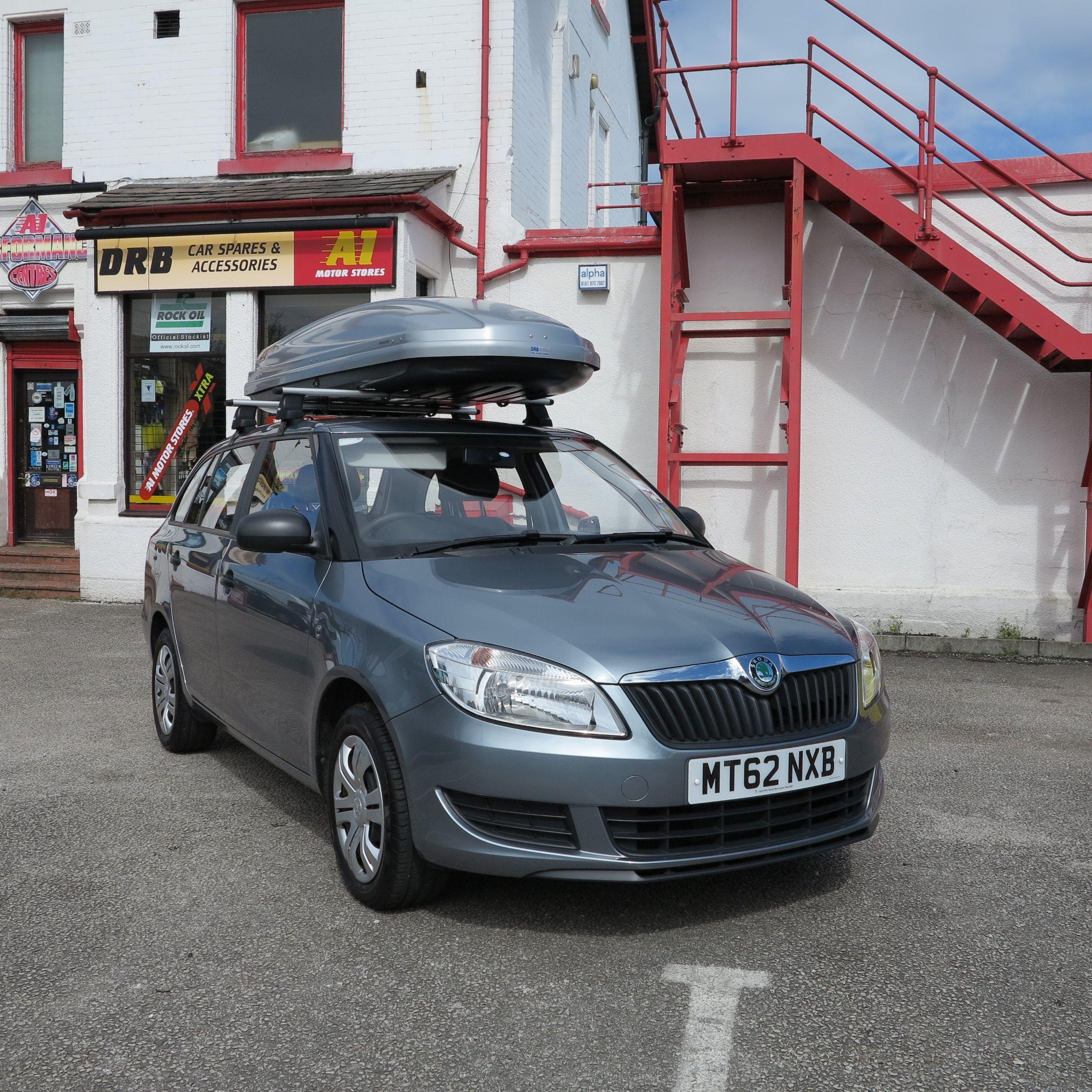 Thule Top Box on Skoda Fabia DRB Car Spares & Accessories Car