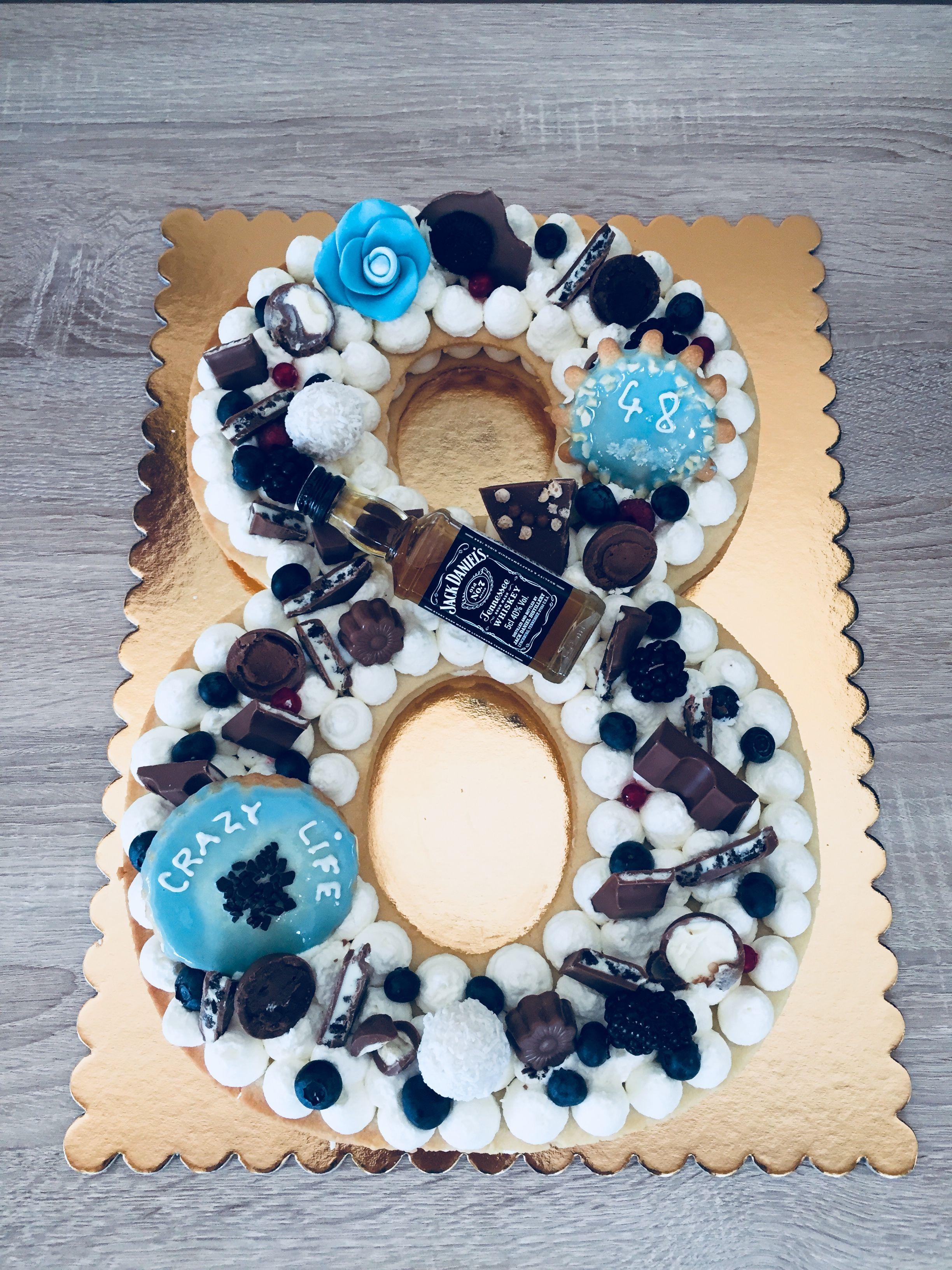 Pin by Jeļena Ņeverovska on торт   Number cakes, Cookie ...