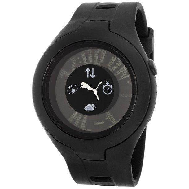 e4da99123e5b1 Puma Watch Black Men's | For The Boys | Puma mens, Watches, Mens fashion