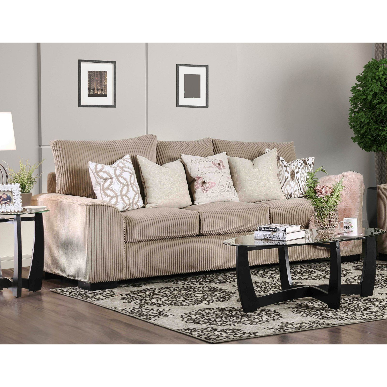 Furniture Of America Carino Wide Wale