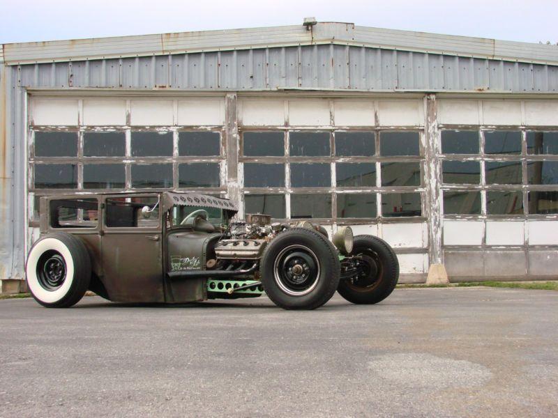 1926 Dodge Sedan Rat Rod Rat Rod Hot Rods Dream Cars