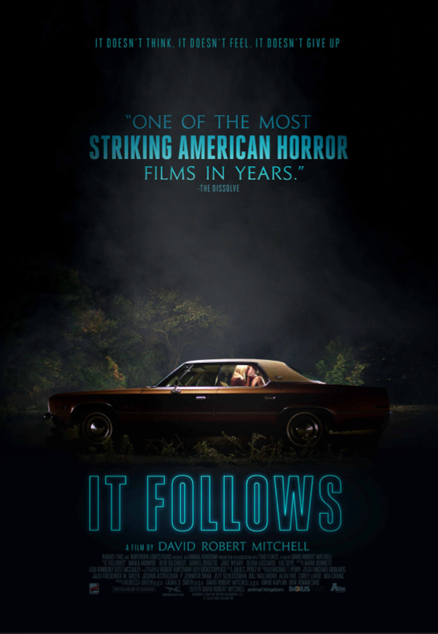 Officiële poster 'It Follows' België Enge films, Horror