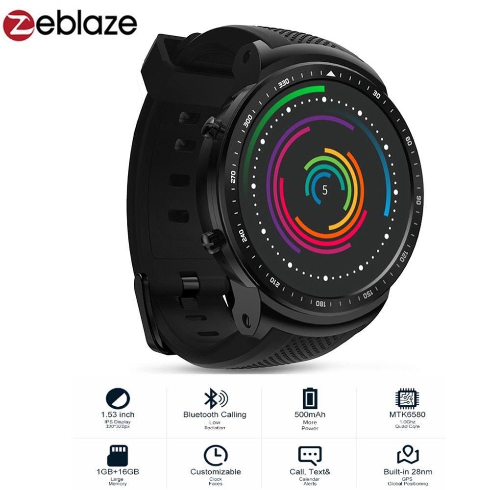 Zeblaze THOR PRO 3G Phone Android Smart Phone Watch Men