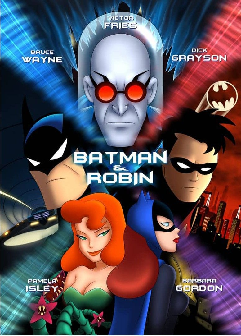 Batman Robin Batman Poster Batman The Animated Series Batman