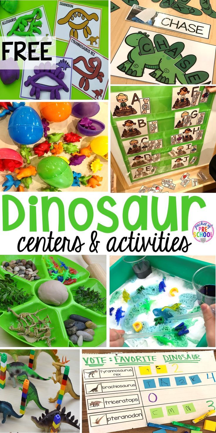 dinosaur themed activities centers for little learners pk3dinosaurs. Black Bedroom Furniture Sets. Home Design Ideas