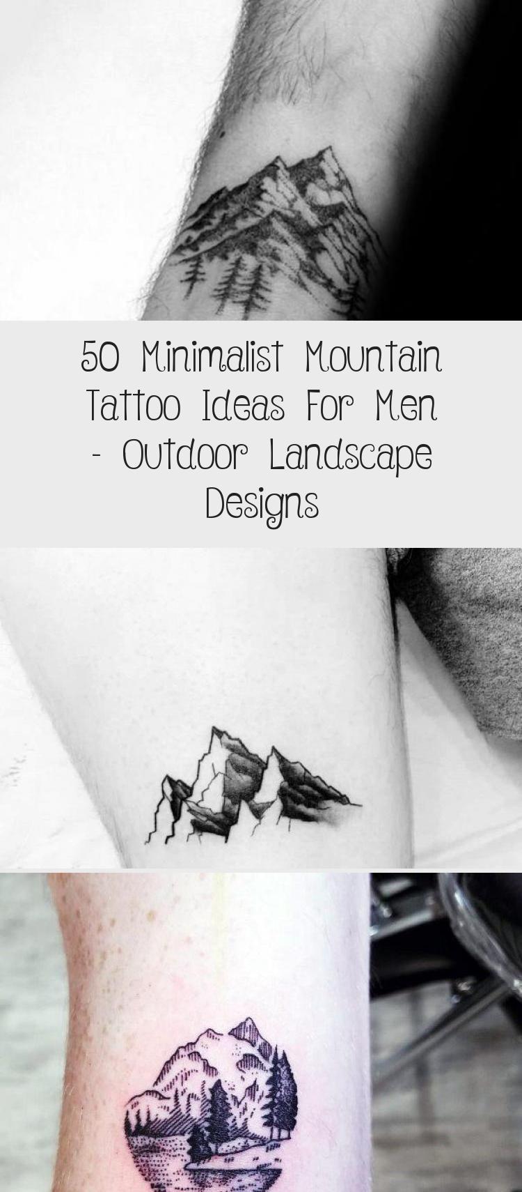 Photo of Amazing Mens Minimalist Mountain Tattoo Designs #minimalisttattooDesign #minimal…