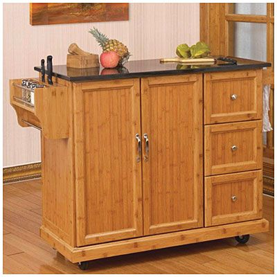 Bamboo Kitchen Cart At Big Lots Kitchen Cart Kitchen Kitchen