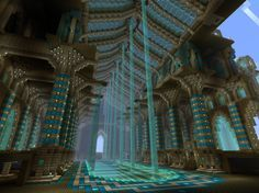 Incredible Minecraft Cathedral Interior KEVIN PAIGE THIS NEEDS TO HAPPEN
