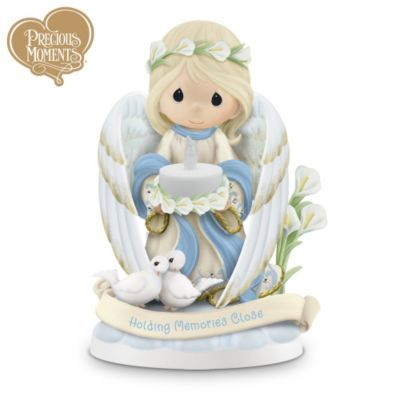 Holding Close The Memories Of Loved Ones Past Precious Moments Figurine