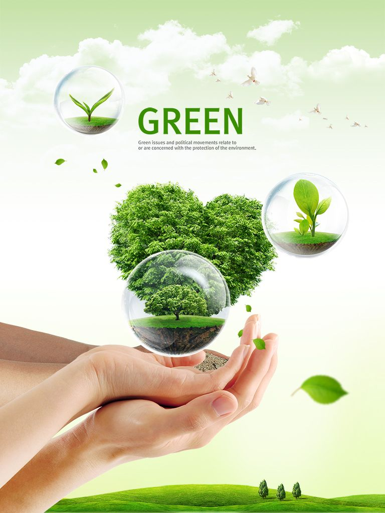 Poster design nature - Natural Poster Source File Applies To The Natural Green Poster Design B Category Creative File Sie Author Chinaz
