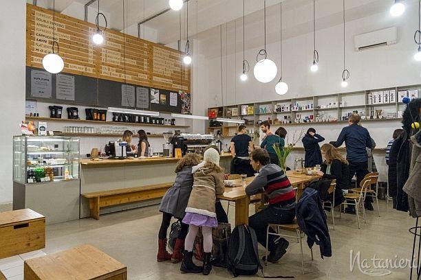 EMA espresso bar / Praha, 2015