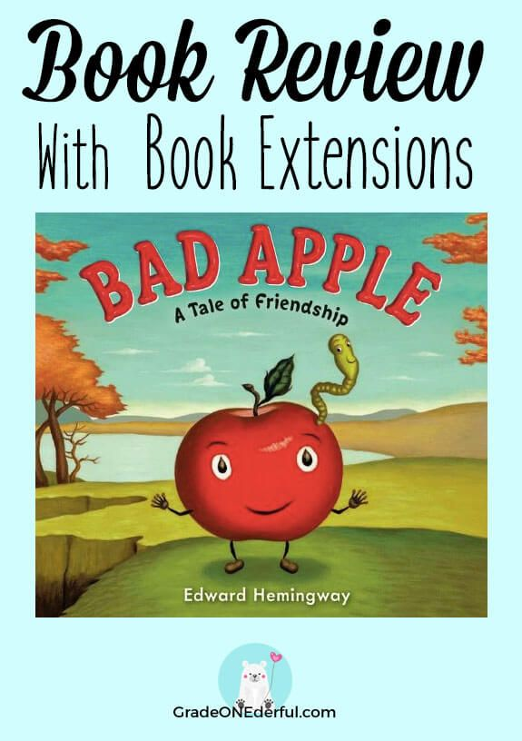 Bad Apple Book Review A Tale Of Friendship Back To School