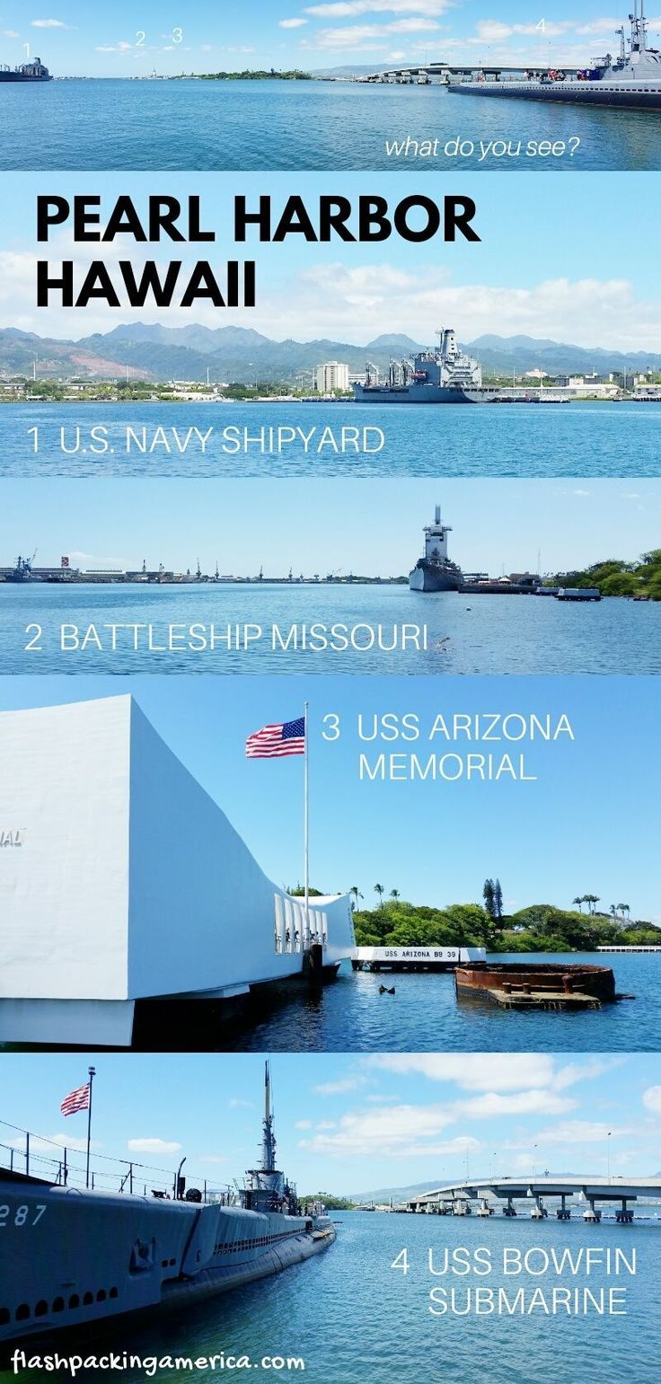 Can you visit pearl harbor without a tour yes but