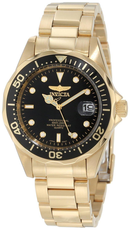 Invicta Pro Diver Gold Black 8936 - RIP  cc23648da