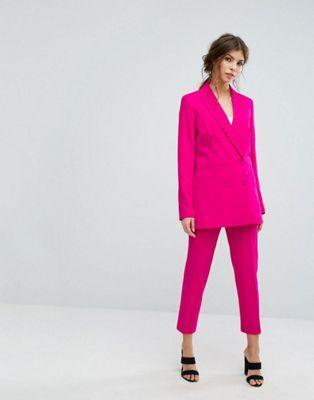 ea2b8d1b82c5 Строгий двубортный блейзер и брюки Oasis | Party | Trouser co ord ...