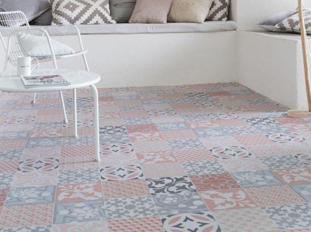 craquez pour les sols en vinyle deco cuisine pinterest sol vinyle carrelage de ciment. Black Bedroom Furniture Sets. Home Design Ideas
