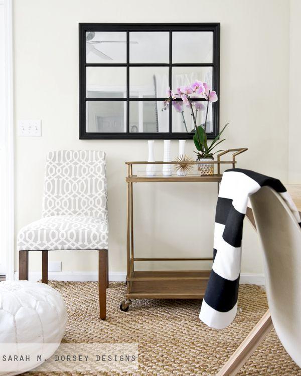 sarah m. dorsey designs: Pottery Barn Inspired Mirror | Krylon ...