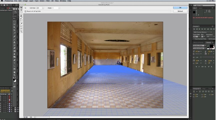 After Effects Tutorial Learn How To Create A 3d Room From A Still Photograph From Photoshop To After Effects Htt With Images Visual Design After Effect Tutorial Design