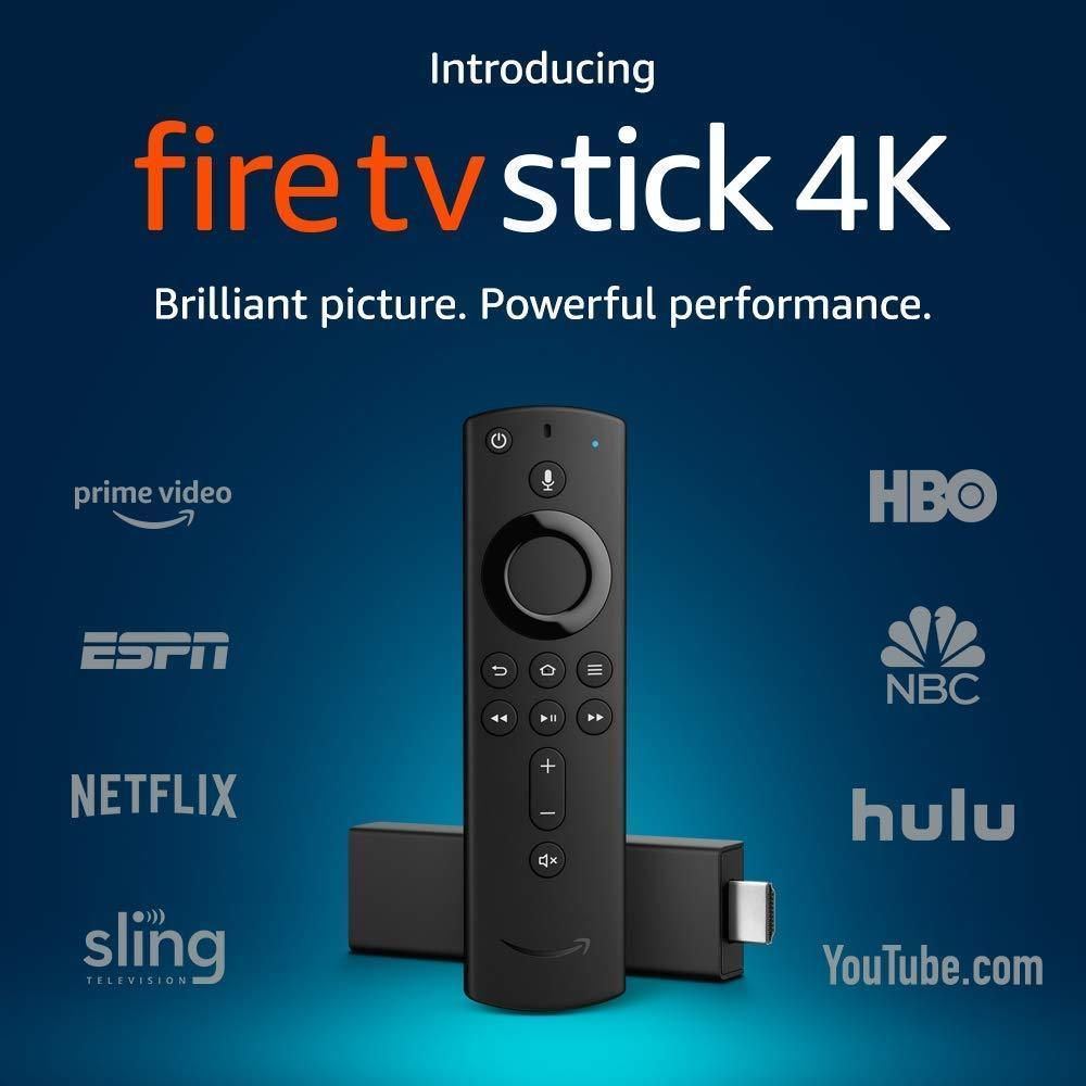 NEW Amazon Fire TV Stick 4K with Alexa Voice Remote