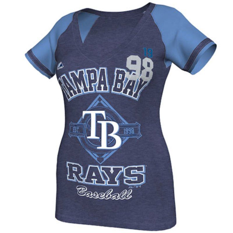 Tampa Bay Rays Majestic Women's This Is My City Fashion V