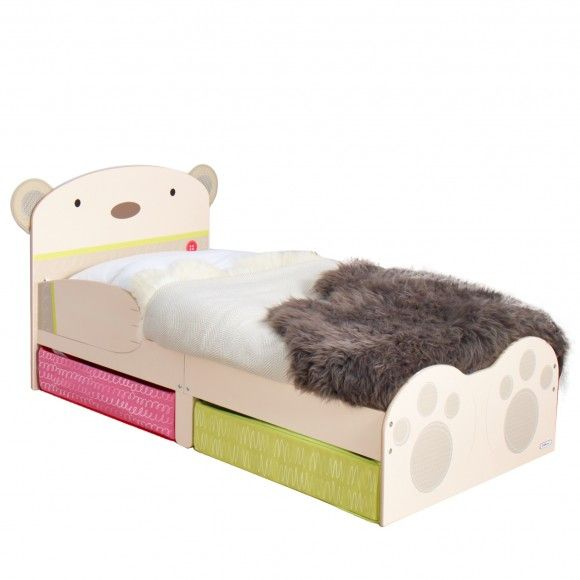 Best Bearhug Toddler Bed With Underbed Storage Worlds Apart 640 x 480