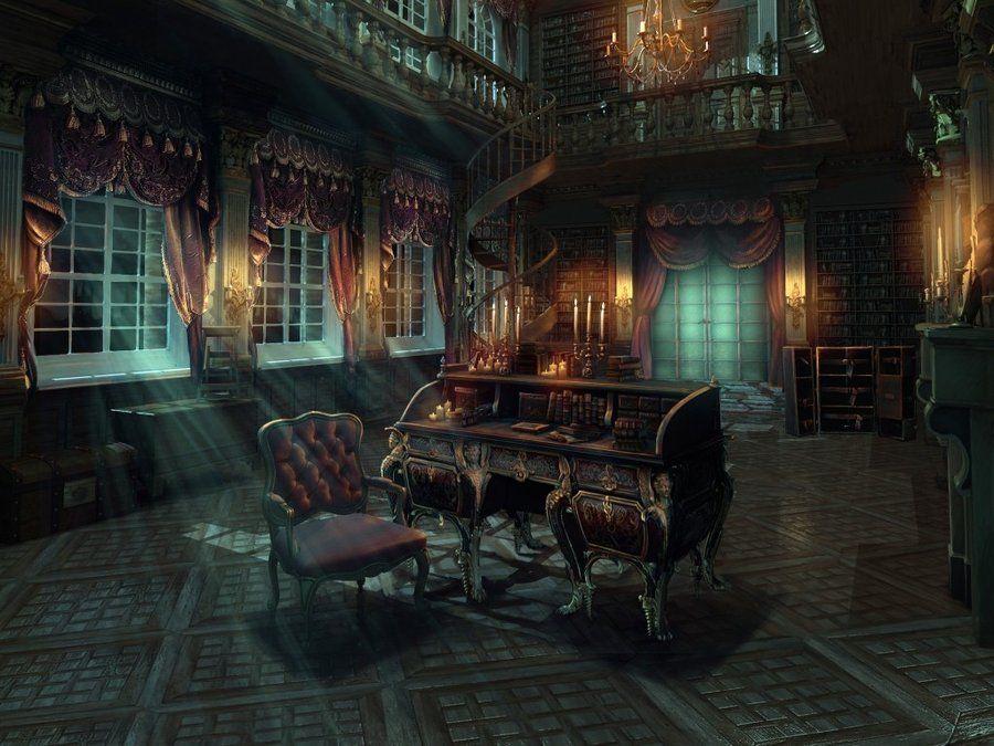 Mansion Corridor By Artifexmundi On Deviantart Gothic Mansion