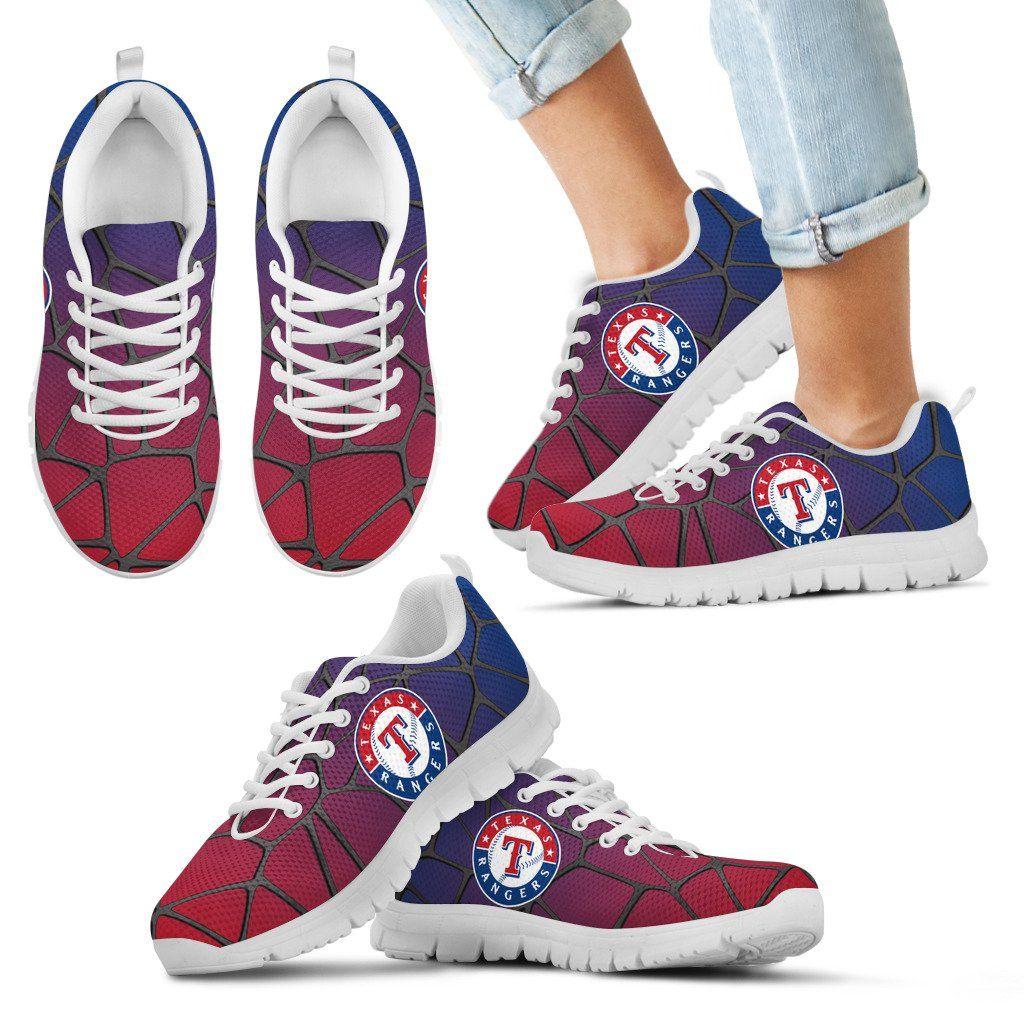 Colors Air Cushion Texas Rangers Gradient Sneakers San