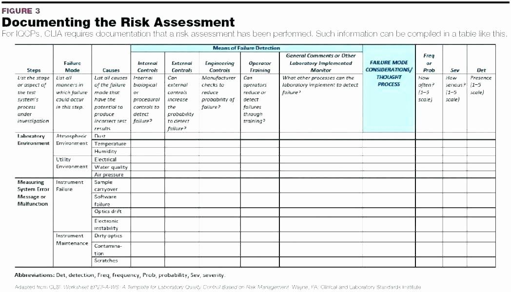 Project Risk assessment Template Luxury Risk Management