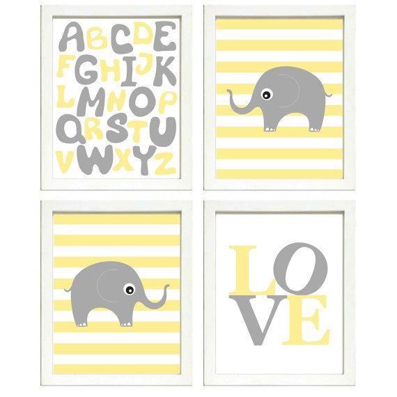 Télécharger INSTANT éléphant gris jaune pépinière par ...