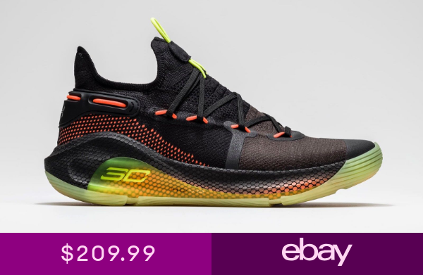 Under Armour Curry 6 Fox Theater Black