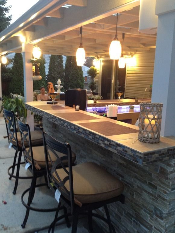 Merveilleux Outdoor Bar Designs | Posh Patios | Pinterest | Outdoor, Patio And Outdoor  Kitchen Bars