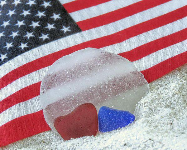 Patriotic Sea Glass Colors By Janice Drew Sea Glass Colors Sea