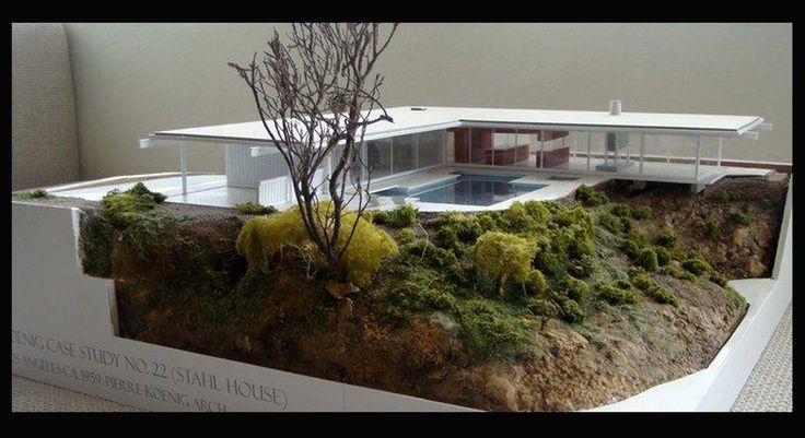 Model house architecture