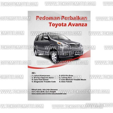 Nama Pedoman Perbaikkan Mobil Toyota Avanza Berat Kirim 1 Kg 1 Bahan Kertas Lux Kwalitas No 1 Tebal Dan Warna Tidak Pudar 2 Uku Toyota Toy Car Ecu